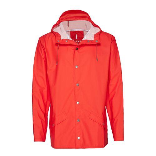 Rains Jacket Regenkleidung Rot RAINS Rot S/M,L/XL,XS/S