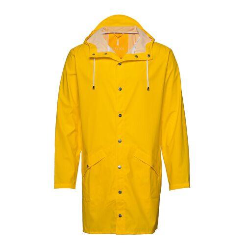 Rains Long Jacket Regenkleidung Gelb RAINS Gelb S/M,M/L,L/XL,XS/S,XXS/XS