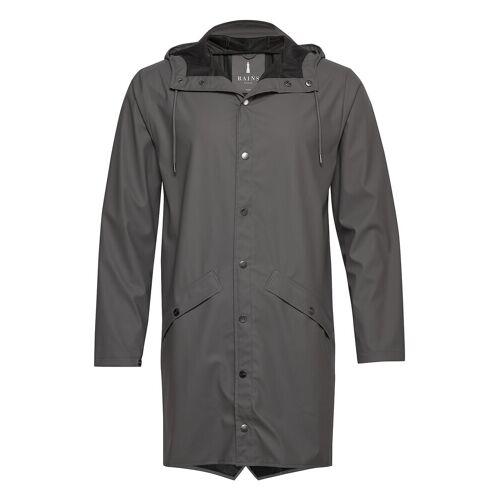 Rains Long Jacket Regenkleidung Grau RAINS Grau XXS/XS