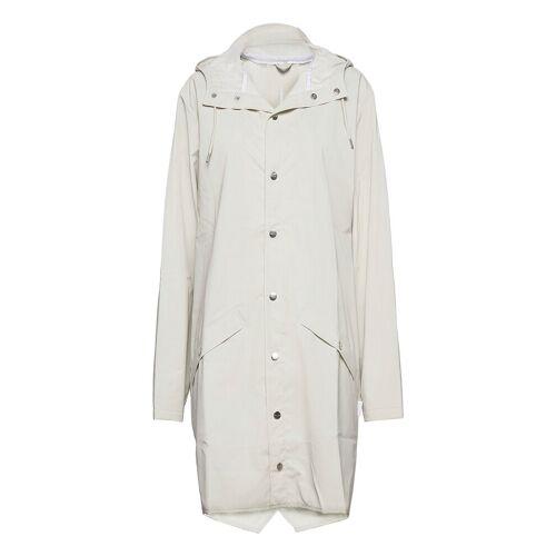 Rains Long Jacket Regenkleidung Weiß RAINS Weiß M-L,XXS-XS