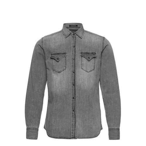 Replay Shirt Hemd Casual Grau REPLAY Grau XL,S