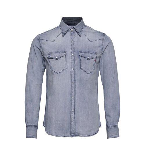 Replay Shirt Hemd Casual Blau REPLAY Blau M,L,XL,XXL