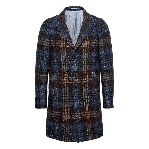 SAND 7420 - Retro Coat Wollmantel Mantel Blau SAND Blau 52,48,50,54,56