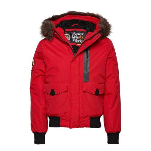 Superdry Everest Bomber Bomberjacke Jacke Rot SUPERDRY Rot L