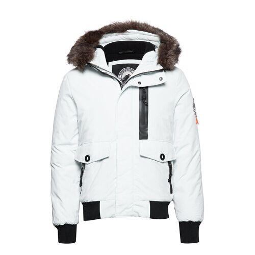 Superdry Everest Bomber Bomberjacke Jacke Weiß SUPERDRY Weiß