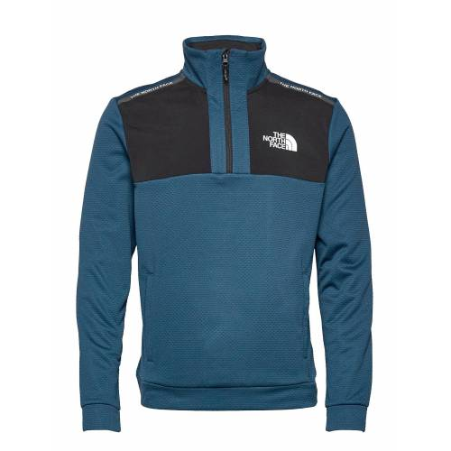 The North Face M Ma 1/2 Zip Knitwear Half Zip Jumpers Blau THE NORTH FACE Blau L,M,XL,S