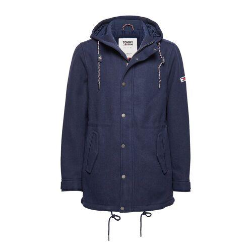 Tommy Jeans Tjm Wool Parka Parka Jacke Blau TOMMY JEANS Blau XL,L,M,S