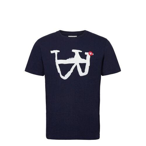 WOOD WOOD Ace T-Shirt T-Shirt Blau WOOD WOOD Blau L,XL,M,XXL,XS,S