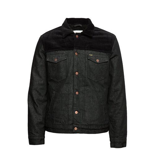 Wrangler Sherpa Jacket Black Jeansjacke Denimjacke Blau WRANGLER Blau M,XL,XXL,S