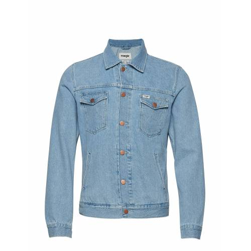 Wrangler Regular Jacket Jeansjacke Denimjacke Blau WRANGLER Blau XL,S