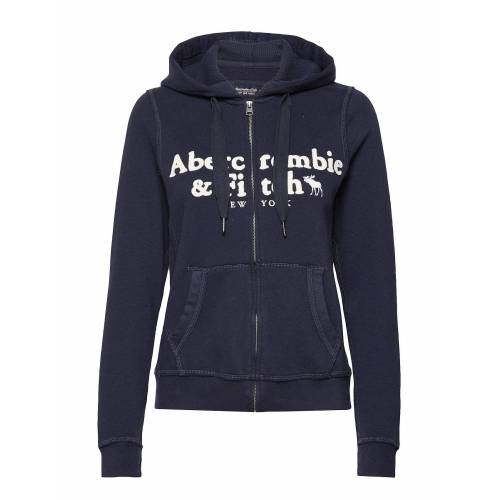 Abercrombie & Fitch Long Life Full Zip Hoodie Pullover Blau ABERCROMBIE & FITCH Blau L,M,S,XS,XL