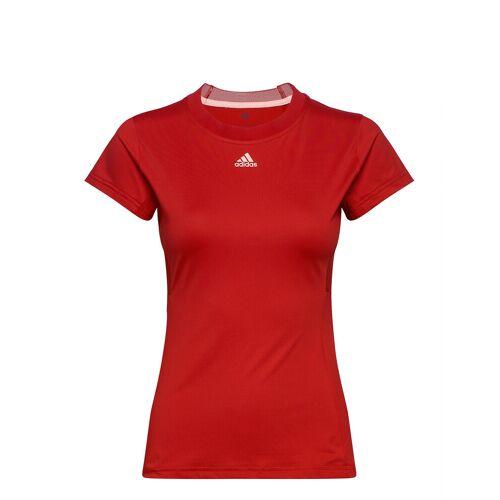 ADIDAS TENNIS Tennis Match Tee Aeroready T-Shirt Top Rot ADIDAS TENNIS Rot M,S,L,XS