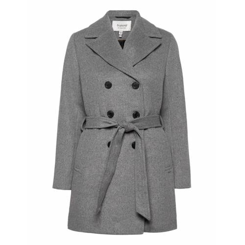 b.Young Byabia Coat - Wollmantel Mantel Grau B.YOUNG Grau 36,38,40,42,44,34