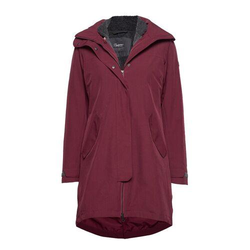 bergans Oslo 3in1 W Coat Parka Jacke Mantel Rot BERGANS Rot XS