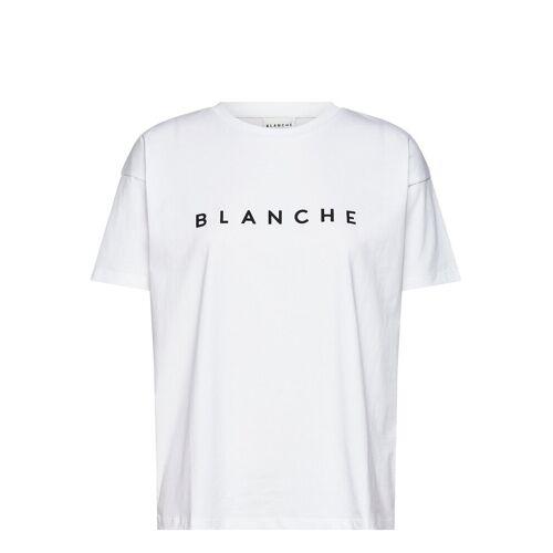 BLANCHE Main T-Shirt Top Weiß BLANCHE Weiß M,S,L,XS,XL