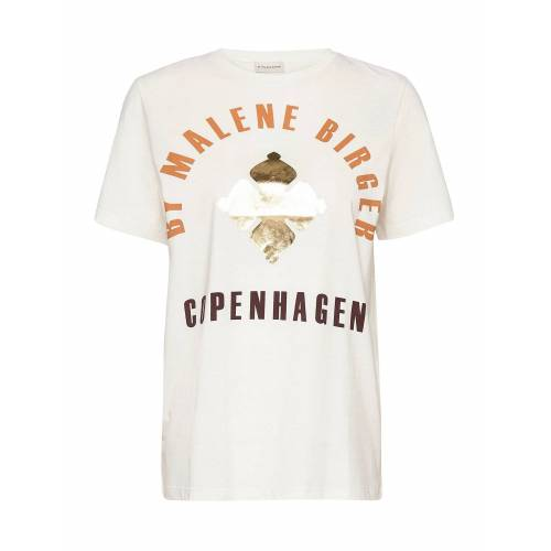 BY MALENE BIRGER Desmos T-Shirt Top Creme BY MALENE BIRGER Creme S,XS,M,L,XL,XXS