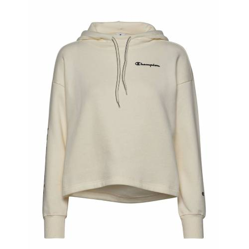 Champion Hooded Crop Top Hoodie Pullover Creme CHAMPION Creme M,S,L,XS,XL