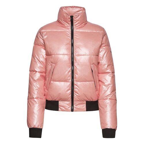 Champion Bomber Jacket Gefütterte Jacke Pink CHAMPION Pink L,M,S,XL,XS