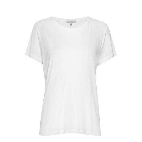 DAGMAR Upama Rib Top T-Shirt Top Weiß DAGMAR Weiß XS,L,XL