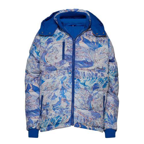Dedicated Puffer Jacket Boden Ski Area Gefütterte Jacke Blau DEDICATED Blau M,L