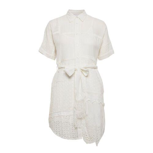 Desigual Vest Byron Kurzes Kleid Weiß DESIGUAL Weiß L,XL,M,S