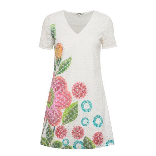 Desigual Vest Denis Kurzes Kleid Weiß DESIGUAL Weiß 42,40,44
