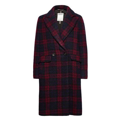 ESPRIT CASUAL Coats Woven Wollmantel Mantel Rot ESPRIT CASUAL Rot L,M,XS,XXL,XL