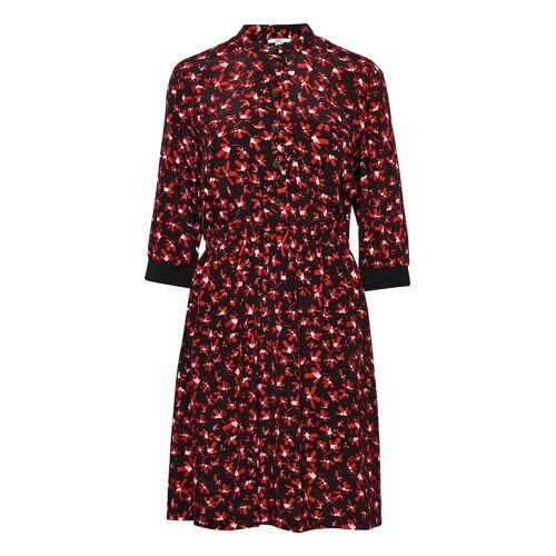 edc by esprit Dresses Light Woven Kurzes Kleid Rot EDC BY ESPRIT Rot 38,40,36,42,44,34