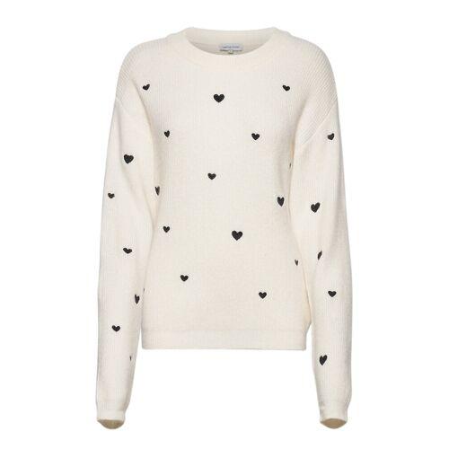 Fabienne Chapot Disco Heart Pullover Strickpullover Creme FABIENNE CHAPOT Creme L,M,XS,S,XL