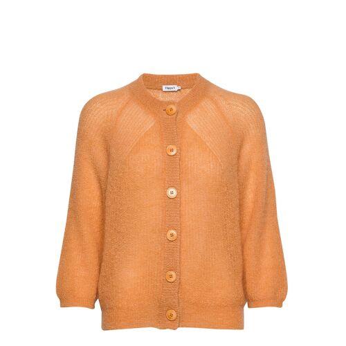 FILIPPA K Mohair 3/4 Sleeve Cardigan Cardigan Strickpullover Orange FILIPPA K Orange S,XS