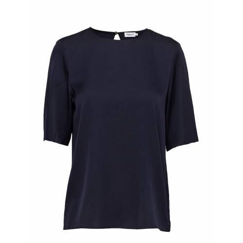 FILIPPA K Silk Tee T-Shirt Top Blau FILIPPA K Blau 36,38,40,42,34