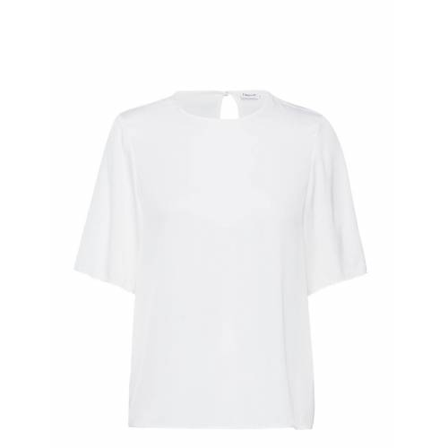 FILIPPA K Silk Tee T-Shirt Top Weiß FILIPPA K Weiß 36,38,40,42