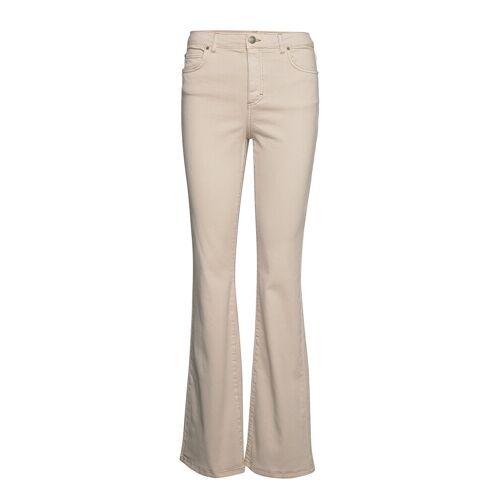 FIVEUNITS Naomi 686 Jeans Mit Schlag Creme FIVEUNITS Creme 29,30,32,33