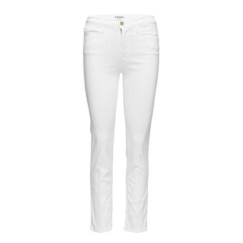 FRAME Le High Straight Straight Jeans Hose Mit Geradem Bein Weiß FRAME Weiß 30,25,24