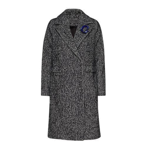 GUESS JEANS Rocio Coat Wollmantel Mantel Grau GUESS JEANS Grau M,L,XS