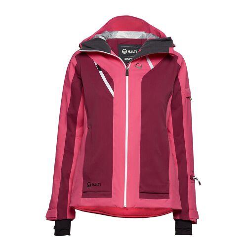 HALTI Podium W Dx Ski Jacket Outerwear Sport Jackets Padded Jacket Rot HALTI Rot 40,42,36,44,46,34