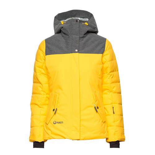 HALTI Kilta Women'S Dx Ski Jacket Gefütterte Jacke Gelb HALTI Gelb 40,42,36,44
