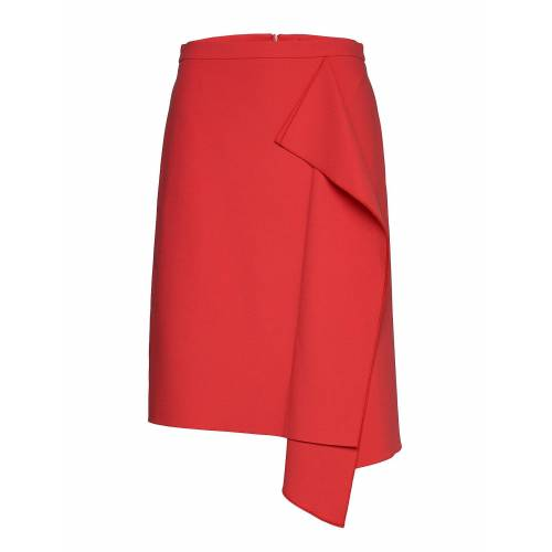 HUGO Ribina Knielanges Kleid Rot HUGO Rot 38,36,40,34,42