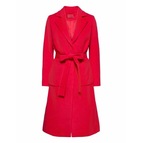 HUGO Mesua Wollmantel Mantel Pink HUGO Pink 40,42