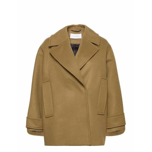 IVY & OAK Pea Coat Wollmantel Mantel Beige IVY & OAK Beige 36,38,34,42
