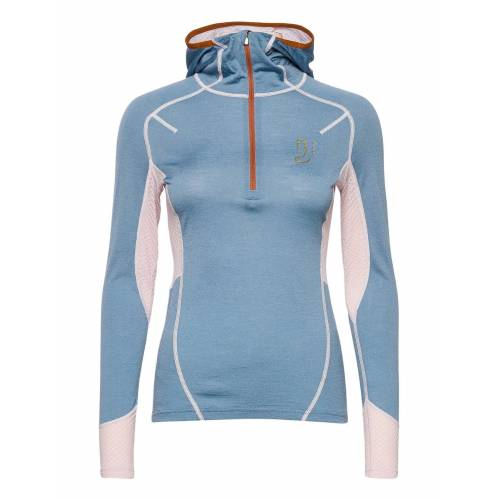 JOHAUG Lithe Tech-Wool Hood Base Layer Tops Blau JOHAUG Blau M,S,L,XL,XS