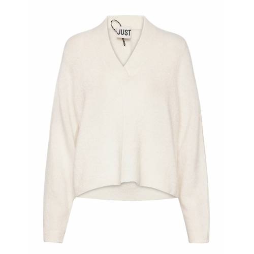 Just Female Chica Knit Strickpullover Creme JUST FEMALE Creme M,S,L