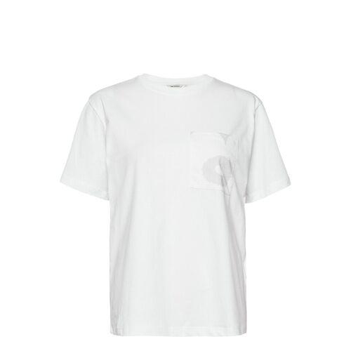 Marimekko Hiekka Solid T-Shirt T-Shirt Top Weiß MARIMEKKO Weiß XL,XXL