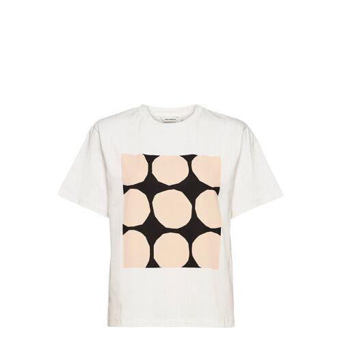 Marimekko Vaikutus Kivet T-Shirt T-Shirt Top Weiß MARIMEKKO Weiß M,L,S,XL,XXL,XS