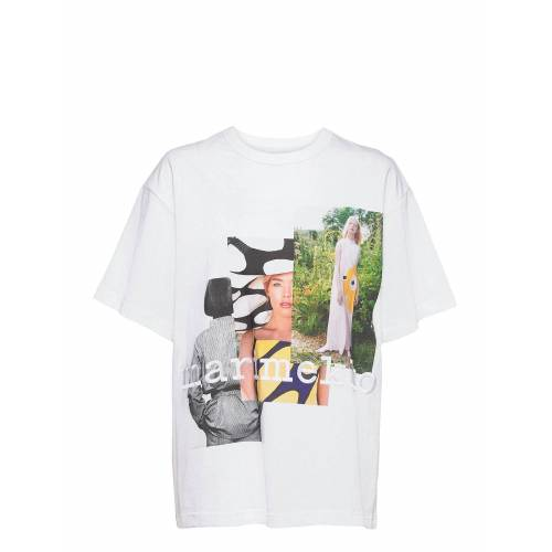 Marimekko Ohje Photos T-Shirt T-Shirt Top Weiß MARIMEKKO Weiß M,S,L,XS,XL