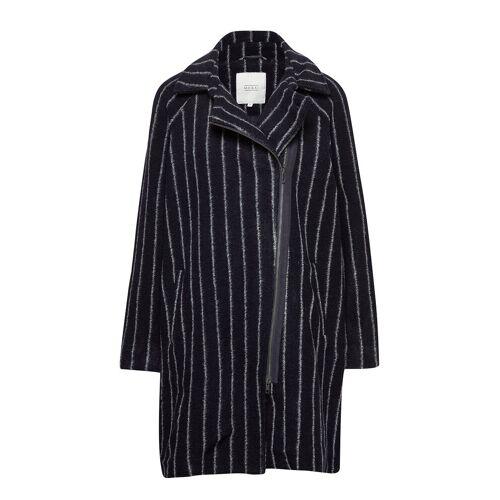 MASAI Tayla Coat Wollmantel Mantel Blau MASAI Blau XXL,L,XL,M,S