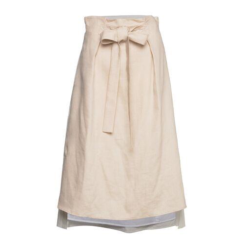 MAX&CO. Celine Knielanges Kleid Creme MAX&CO. Creme 42,36,40