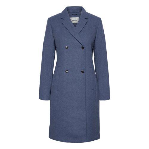 MODSTRÖM Odelia Coat Wollmantel Mantel Blau MODSTRÖM Blau M,S,L,XS,XL