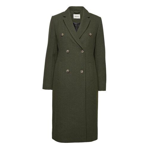 MODSTRÖM Odelia Long Coat Wollmantel Mantel Grün MODSTRÖM Grün M,S,XS,L,XL