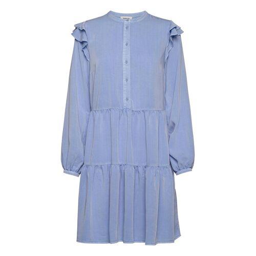 MODSTRÖM Henry Dress Kurzes Kleid Blau MODSTRÖM Blau XL,M,L,S,XS
